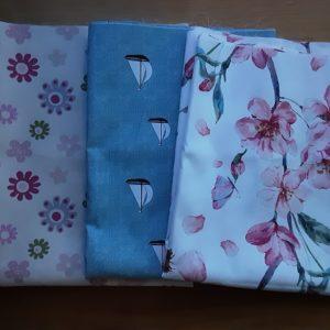BIO Baumwolle für die Lavendelsäckchen