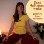 meditieren lernen – Meditationswoche – dein Onlinekurs
